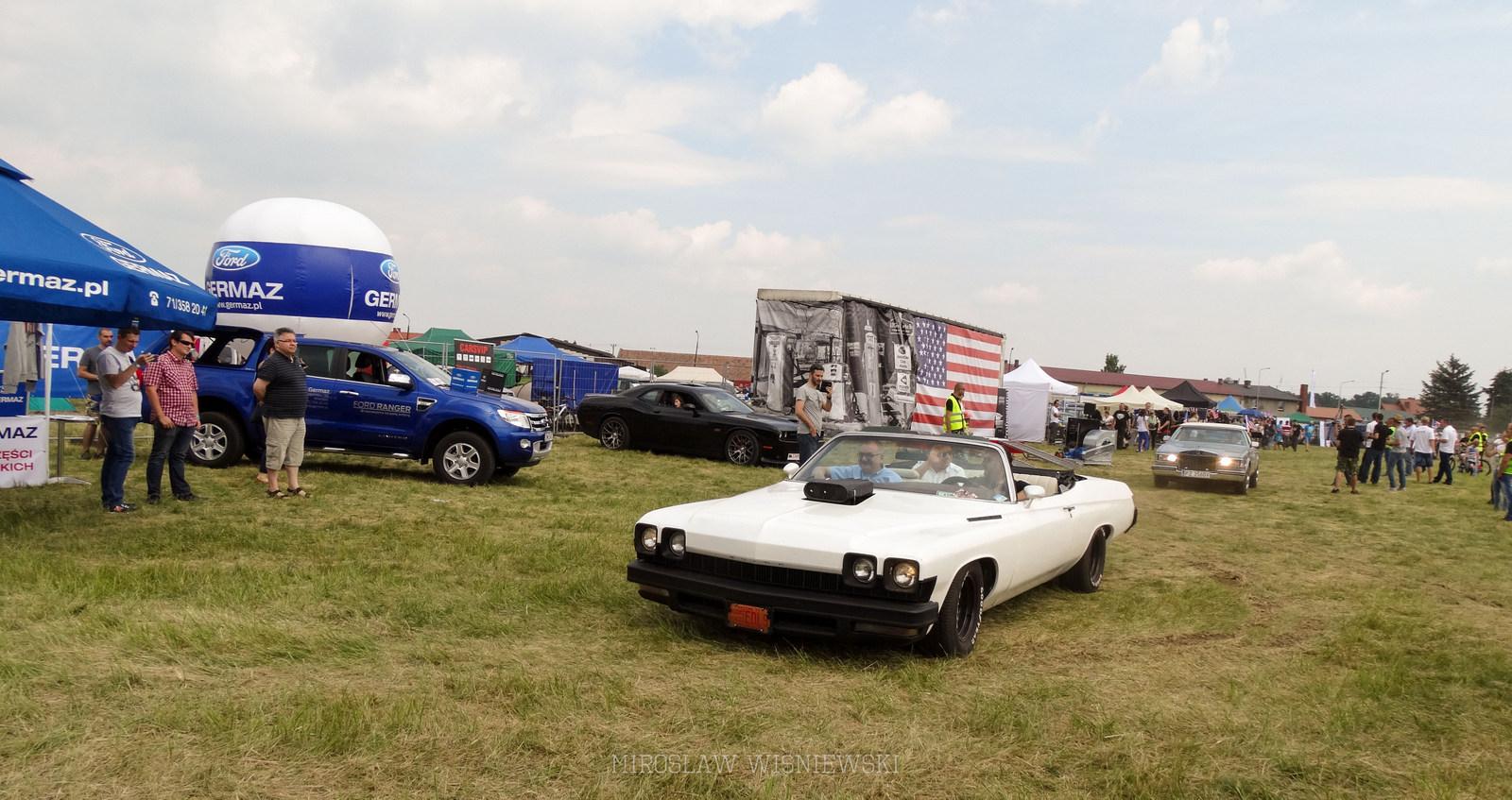 American Cars Mania 2015 Oleśnica, Foto Mirosław Wiśniewski