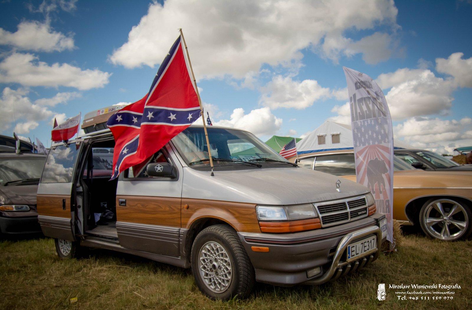 American Cars Mania 2018 , Oleśnica. Foto Mirosław Wiśniewski
