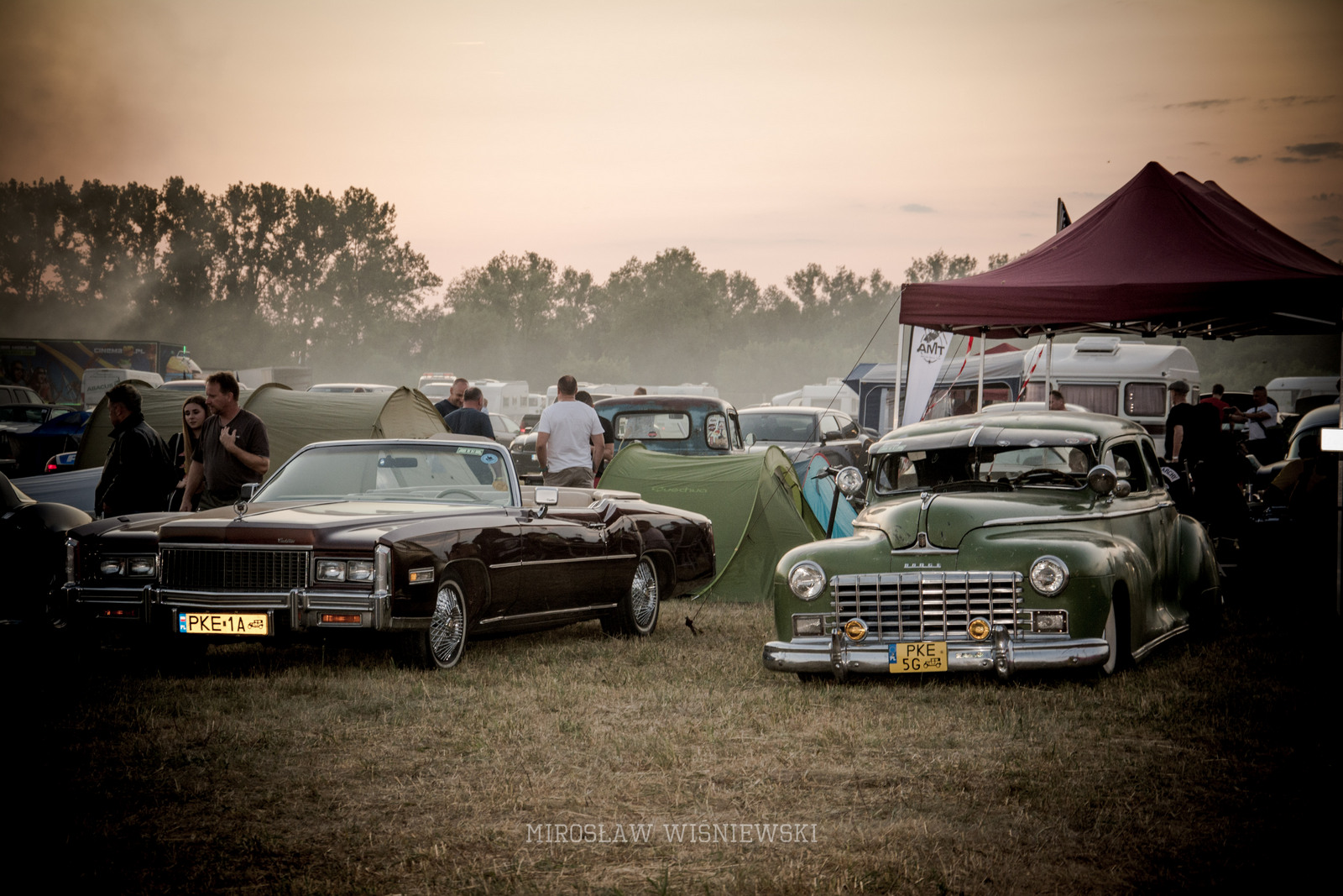 American Cars Mania 2019 , Oleśnica. Foto Mirosław Wiśniewski