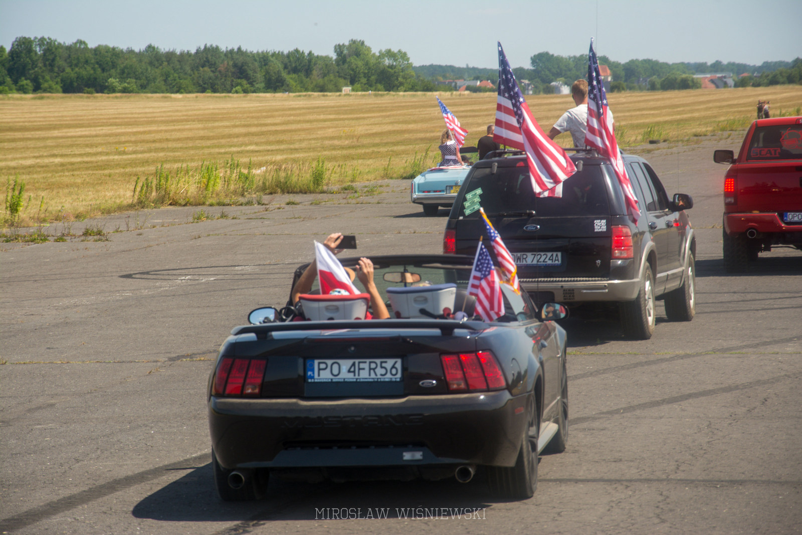 American Cars Mania 2019 Oleśnica, Foto Mirosław Wisniewski