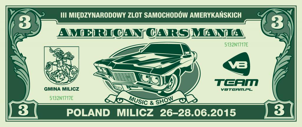 American Cars Mania 2015 , Milicz